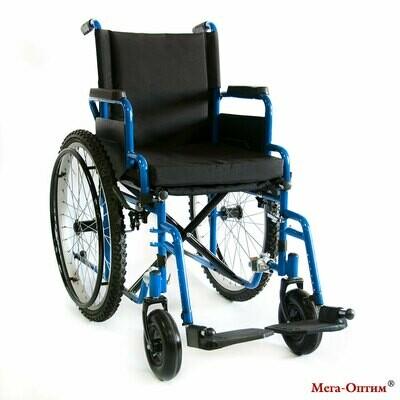 Коляска инвалидная прогулочная 512AE Мега-Оптим