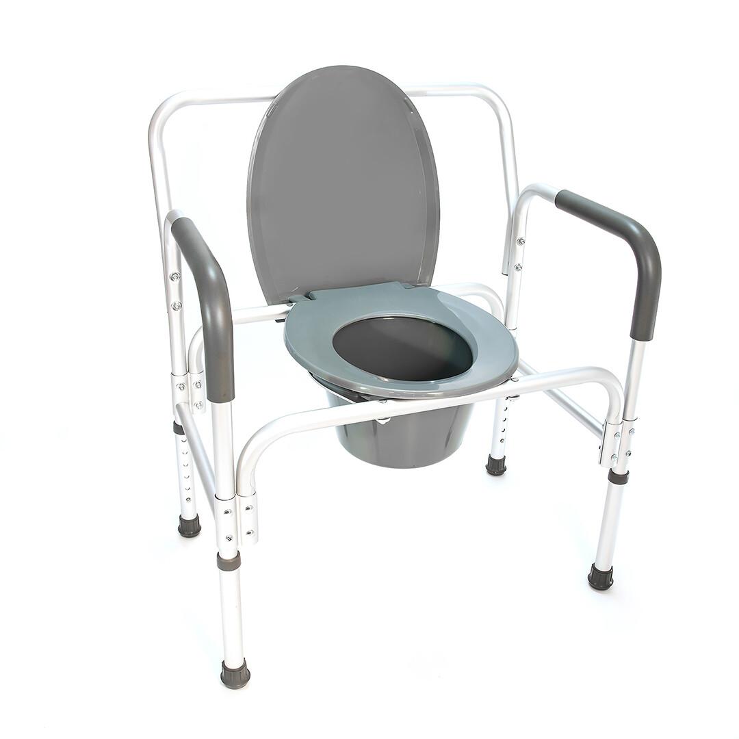 Кресло-туалет повышенной грузоподъемности HMP-7007L