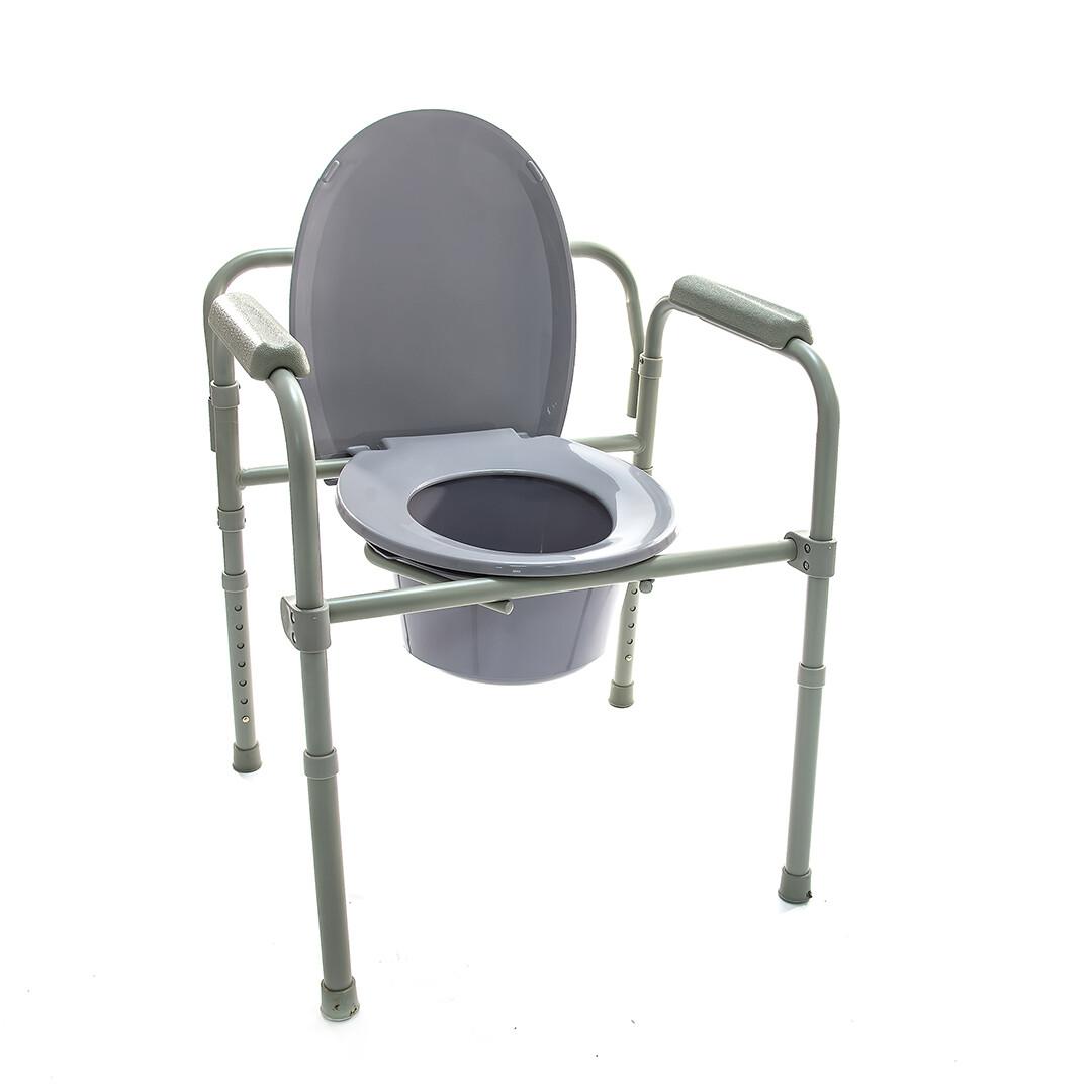 Кресло-туалет повышенной грузоподъемности HMP-7210A