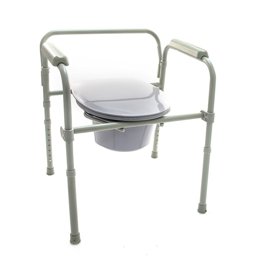 Кресло-туалет повышенной грузоподъемности HMP7210A