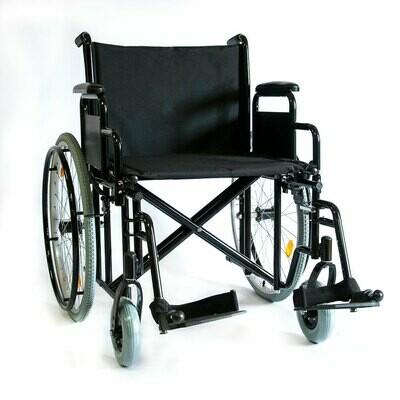 Коляска инвалидная повышенной грузоподъемности 711AE
