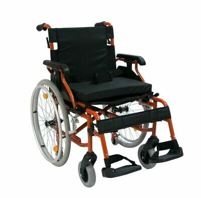 Коляска инвалидная с транзитными колёсами 514A-1