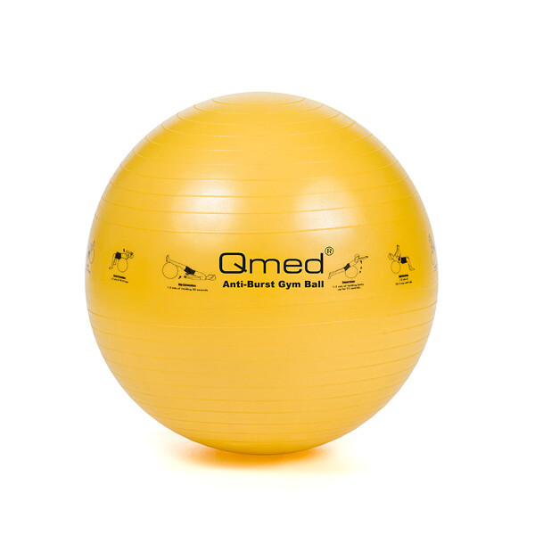 Реабилитационный мяч ABS GYM BALL жёлтый