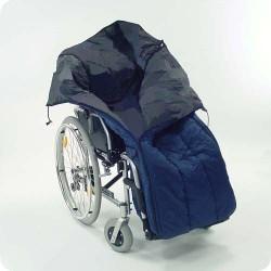 Чехол для прогулок утепленный (для инвалидной коляски) с муфтой