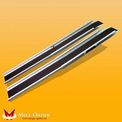 Пандус алюминиевый трехсекционный  CF01-7132А (276 см)