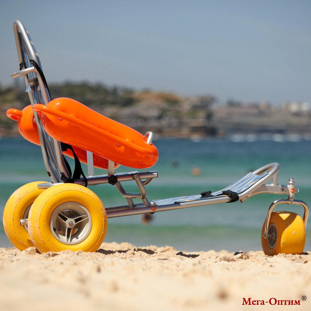 Кресло-коляска пляжная плавающая BW-100 TRITON