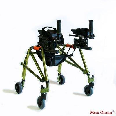 Ходунки для детей больных ДЦП HMP-KA 2200 с подлокотной опорой Мега-Оптим