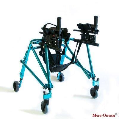 Ходунки для детей больных ДЦП HMP-KA 3200 с подлокотной опорой Мега-Оптим