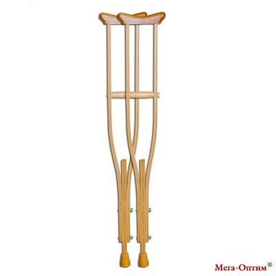 Костыли деревянные, размер M