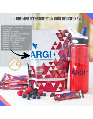 Argi+ 300g (30 sachet de 10g)