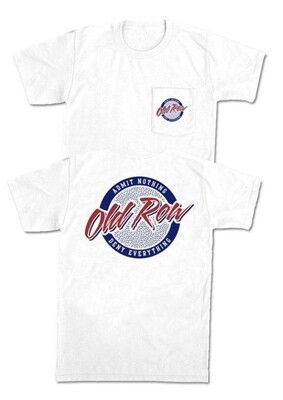 Old Row Retro Circle Tshirt