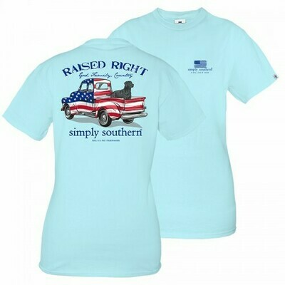 Simply Southern Guys Truck t shirt