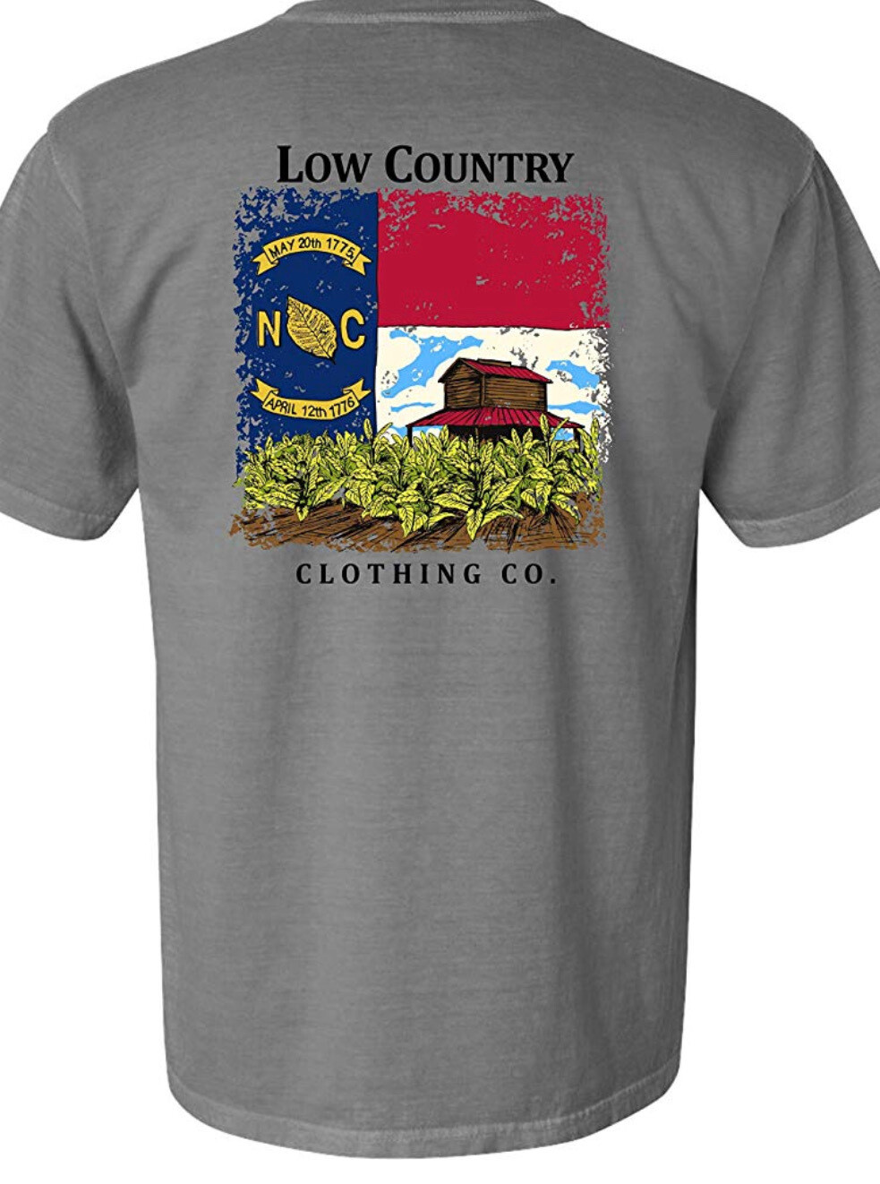 Riverbed Threads Flag and barn t shirt