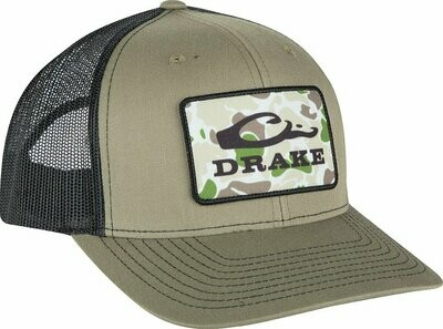 Drake Waterfowl- Old School Patch Hat