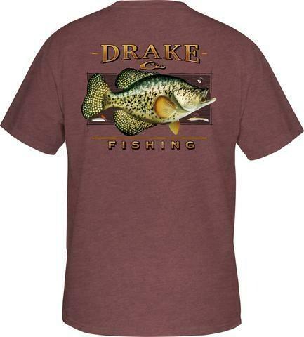 Drake Fishing Slab tee s/s
