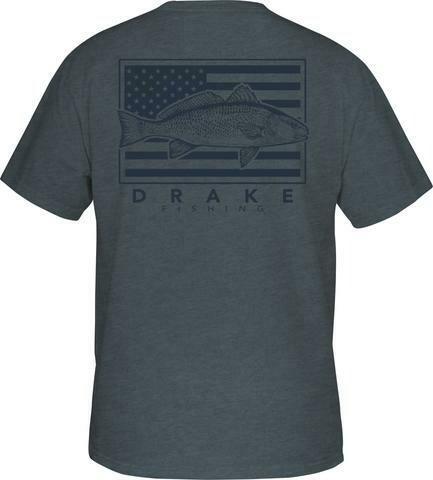 Drake Patriotic Fish Tee s/s