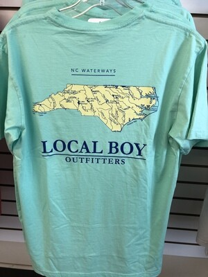Local Boy Waterways Tshirt S/S