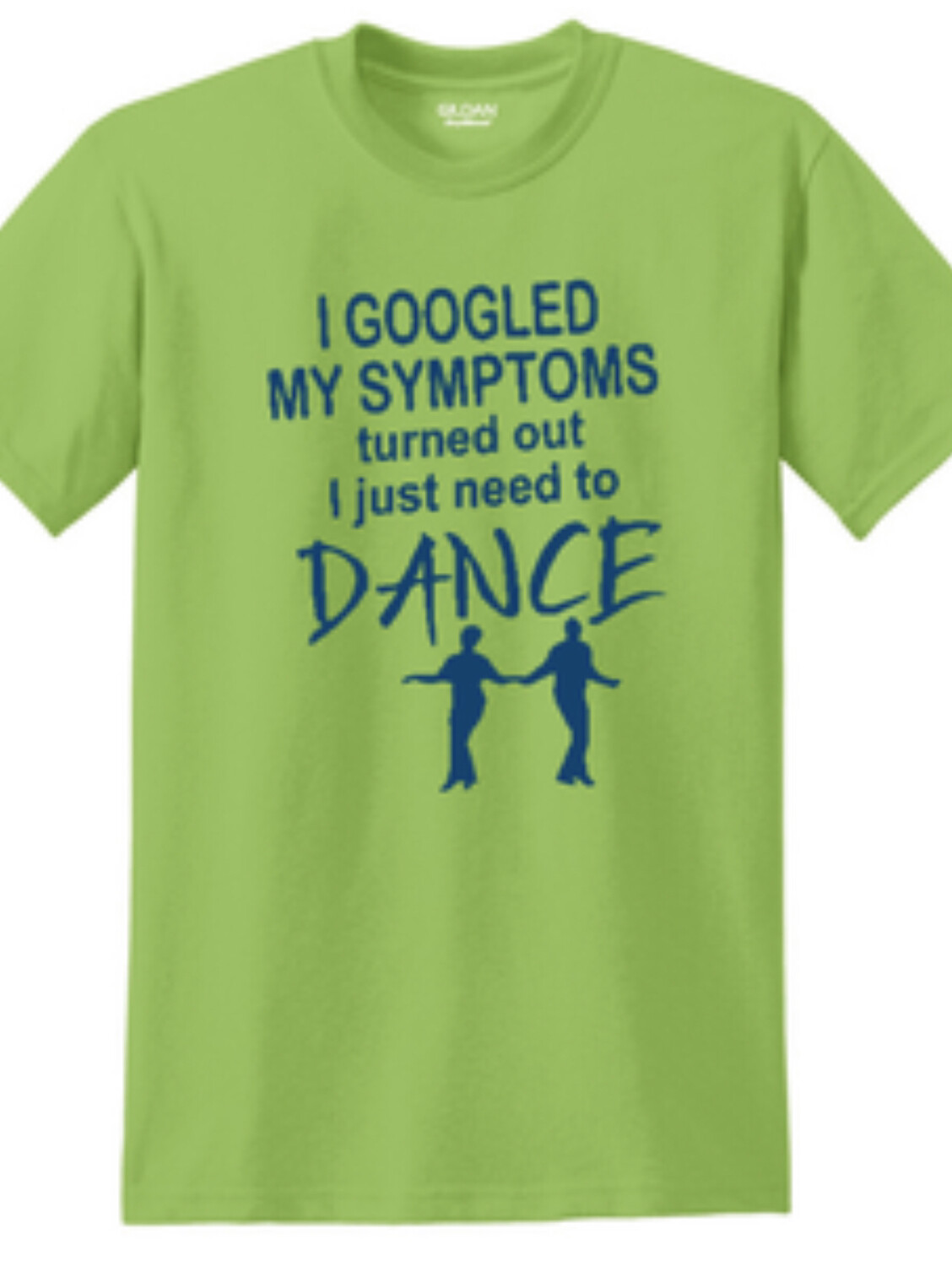 I Just Need to Dance tee to benefit our musicians