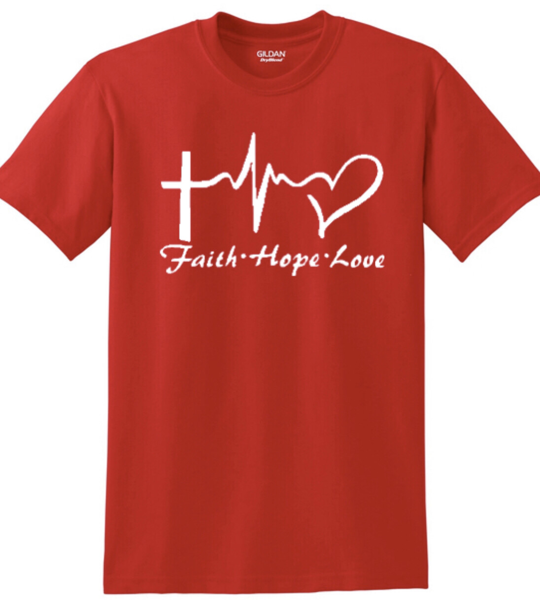 Faith Hope Love tee to benefit Jamie's Vision