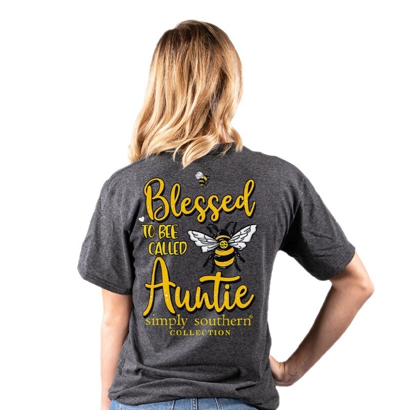 Simply Southern Bee Auntie dkheather SS