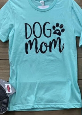 Dog Mom Heather Mint