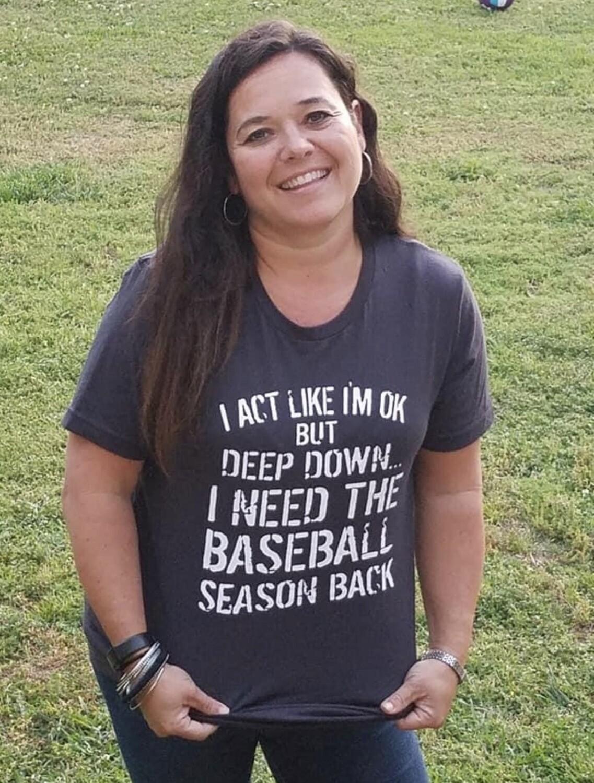 Baseball Season Back Tee