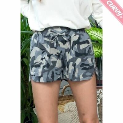 Sweet Lovely Camouflage Shorts