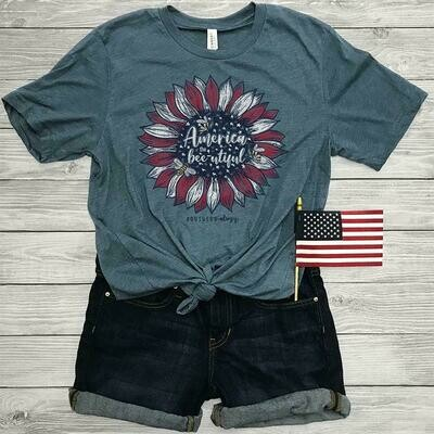 Southern-ology America The Bee-Utiful Tee