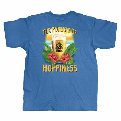 Old Guys Rule The Pursuit of Hoppieness Tee