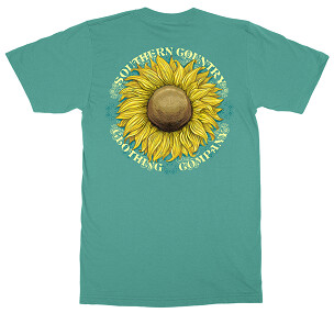 Southern Country Sunflower Tee