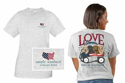 Simply Southern Love One Another Tee