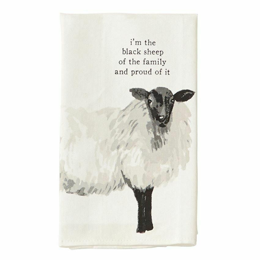 Mudpie Sheep Farm Towel