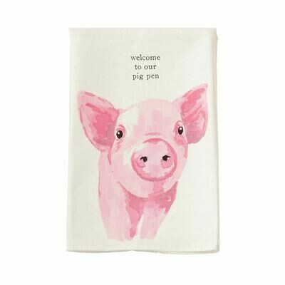 Mudpie Pig Farm Towel