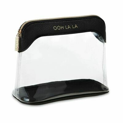 Mudpie Ooh La La Makeup Bag Black