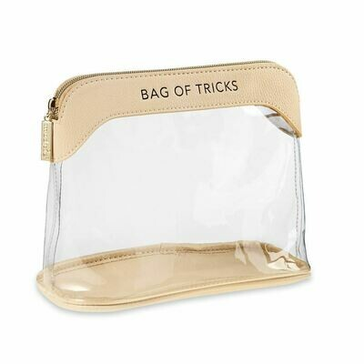 Mudpie Bag of Tricks Makeup Bag Nude