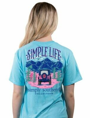 Simply Southern Simple Life Pool Tee