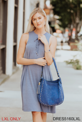 Simply Noelle Lace Up Dress