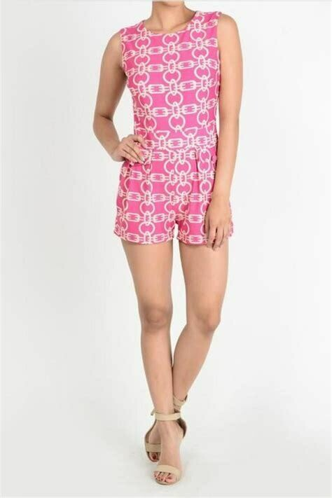 Aryeh Chain Link Pocketed Romper