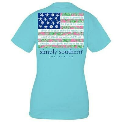 Simply Southern Tropical Flag