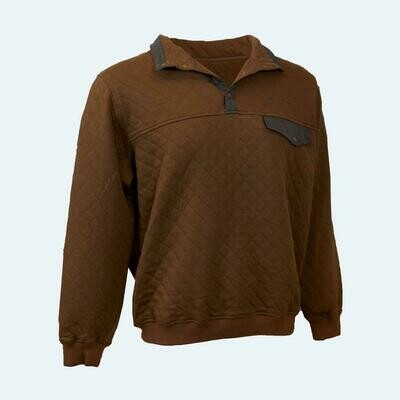 Heybo Quilted Q-Snap Pullover