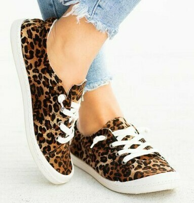 Obessed Kay Kay Fashion Leopard Shoes