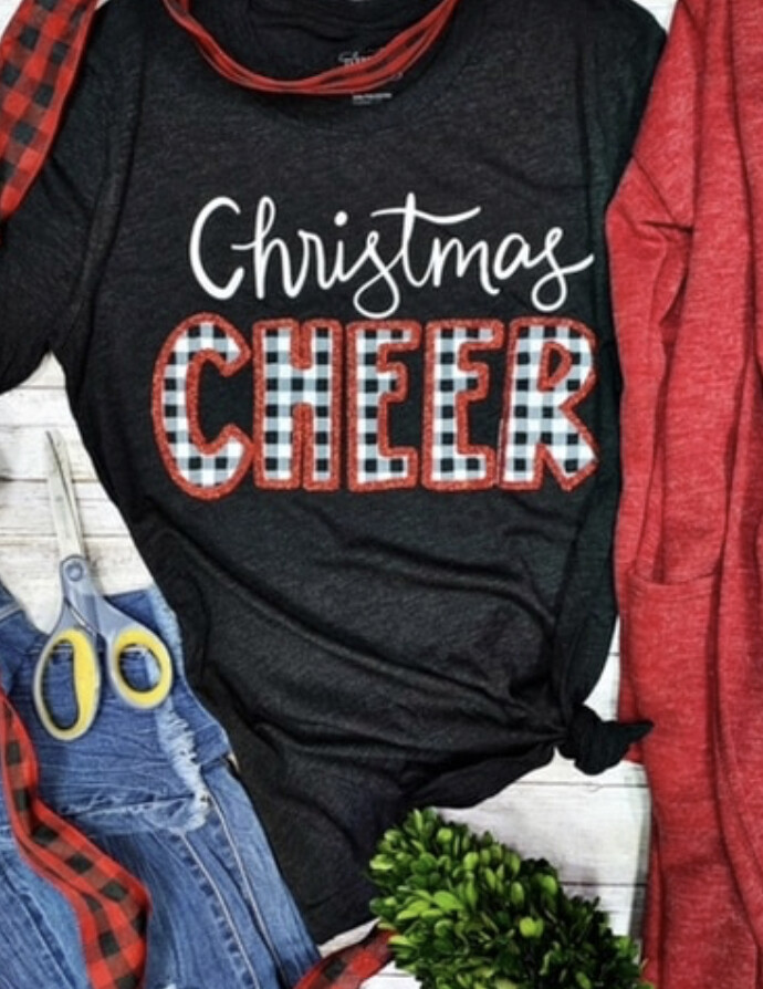 Christmas Cheer short sleeve tee