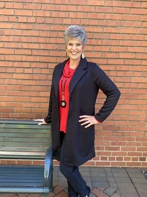 Urban Republic Two Button Fleece Blazer