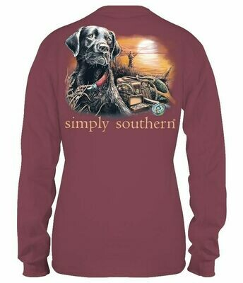 Simply Southern Maroon Lab Lake LS