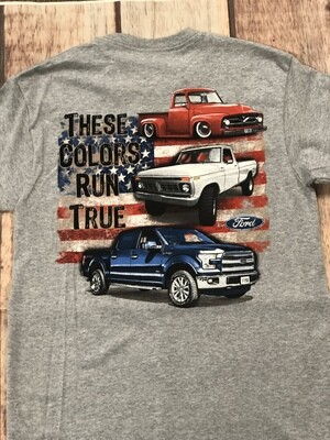 These Colors Run True Ford Retro Trucks