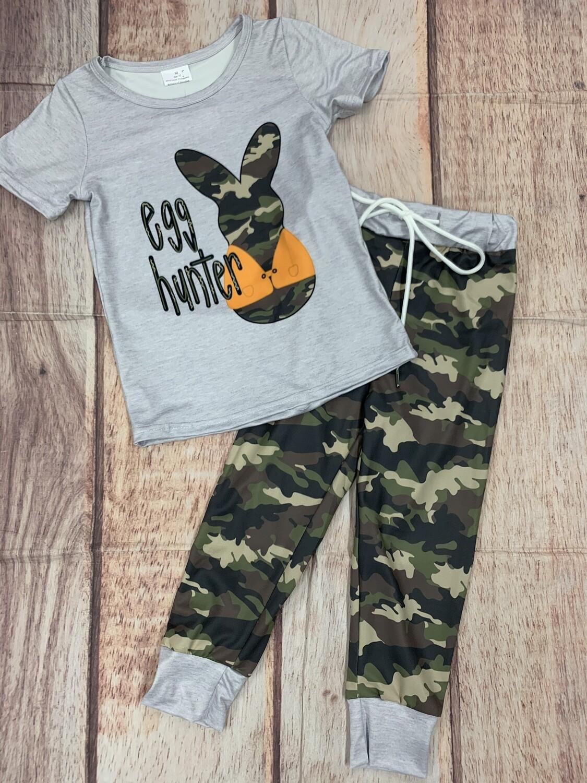 Kids Camouflage Egg Hunter Set