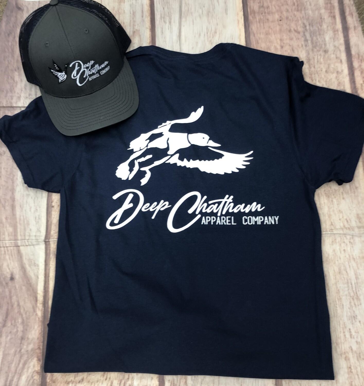 Deep Chatham Waterfowl Short Sleeve