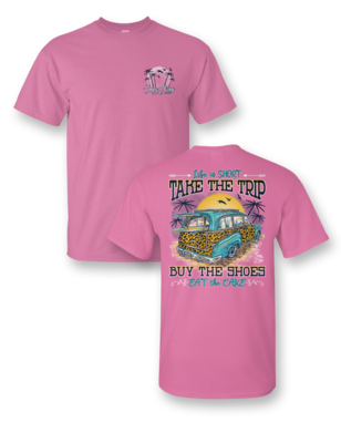 Sassy Frass Take The Trip Tee