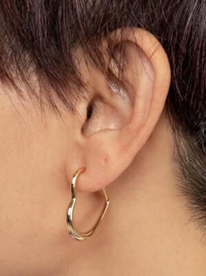 Zenzii Heart Hoop Earring