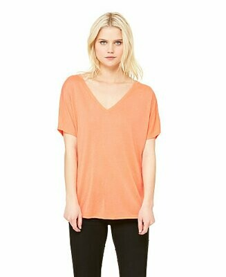 Bella+Canvas Women's Slouchy V-Neck Tee
